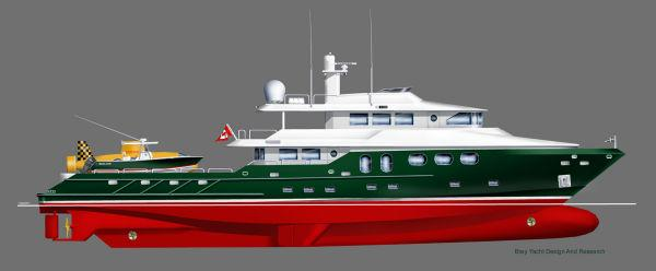 2020 New Bray Yacht Design Long Range Explorer Motoryacht