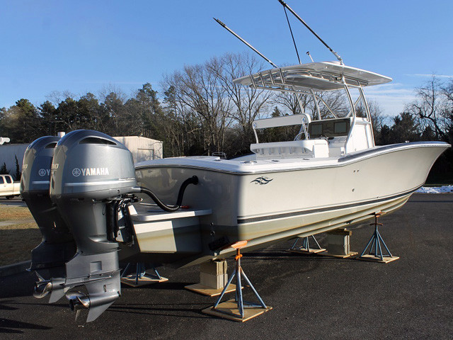 2016 new jersey cape center console fishing boat for sale for Fishing boats for sale nj