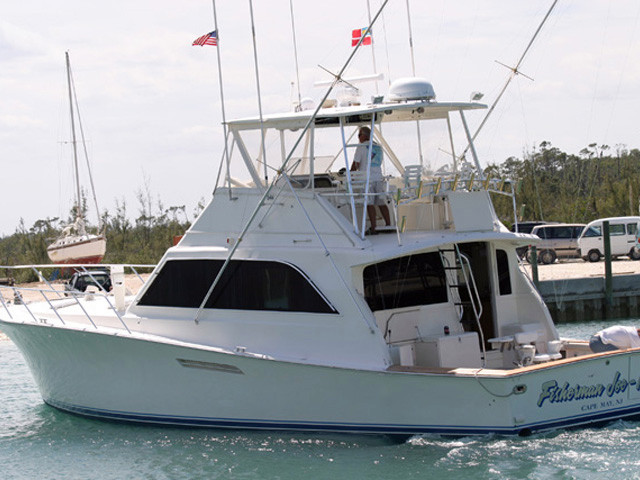 1988 used ocean yachts super sport sports fishing boat for