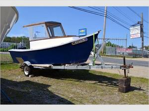 Used Home Made Lobster Boat Commercial Boat For Sale