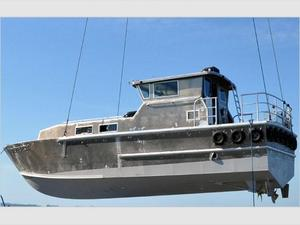 Used Sea Force Ix Crew/supply Commercial Boat For Sale
