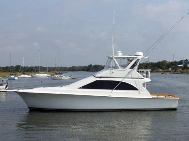 1995 used ocean yachts super sport s fishing boat for ale for Ocean yachts 48 motor yacht for sale