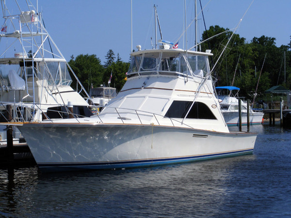 Used Ocean Yachts Sports Fishing Boat For Sale