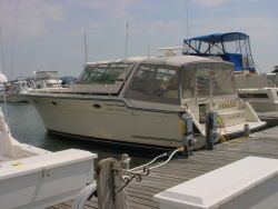 Used Vennetti 44 Express Cruiser Boat For Sale