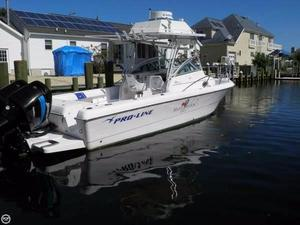 Used Pro-Line 25 Walkaround Center Console Fishing Boat For Sale