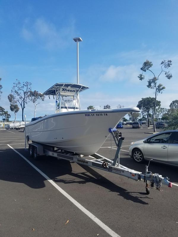 Used Triton 23 STS Center Console Fishing Boat For Sale