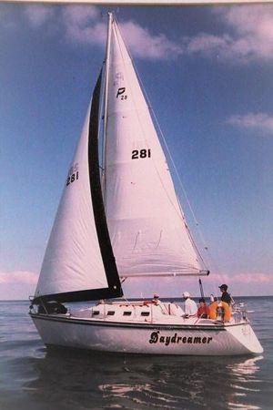 Used Precision 28 Sail Boat Cruiser Boat For Sale