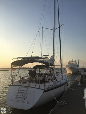 Used Hunter 34 Motorsailer Sailboat For Sale
