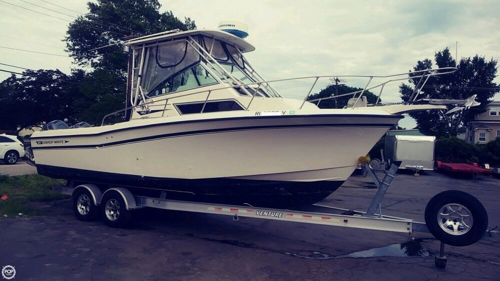 1993 Used Grady-White Sailfish 25 Walkaround Fishing Boat For Sale