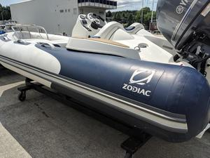 Used Zodiac Yachtline 420 Rigid Sports Inflatable Boat For Sale