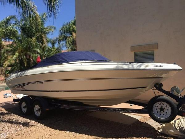 Used Sea Ray 210 BR Signature Bowrider Boat For Sale
