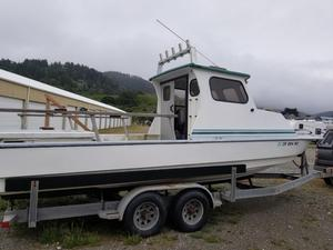 Used Radon 24 Pilothouse Dive Boat For Sale