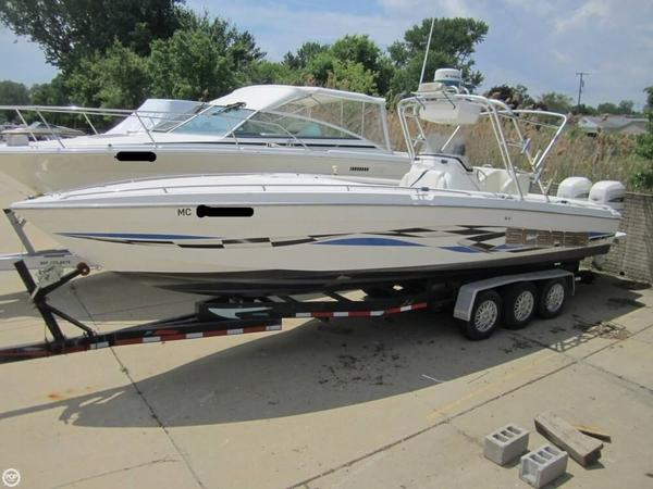 Used Scarab 302 Sport Center Console Center Console Fishing Boat For Sale