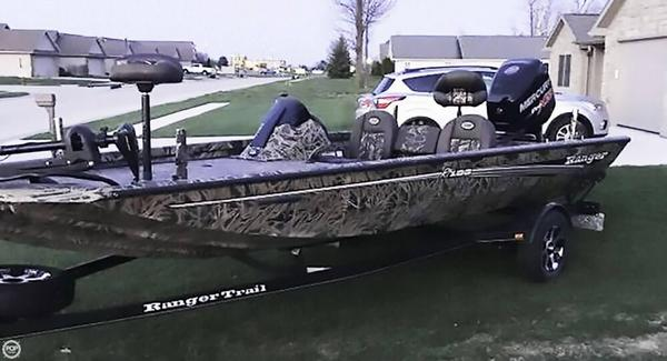 Used Ranger Boats RT188 Aluminum Fishing Boat For Sale