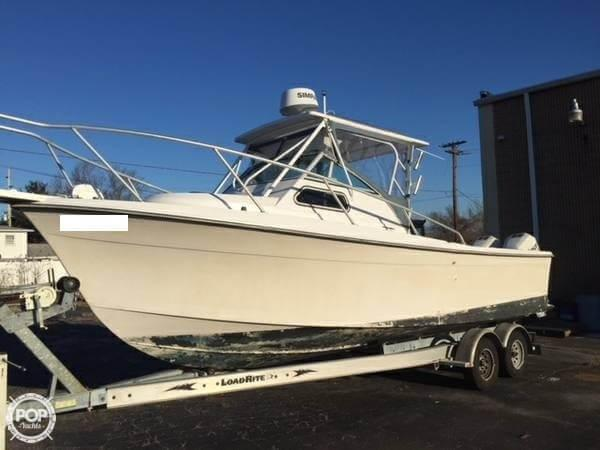 Used Sea Ox 25 Walkaround Fishing Boat For Sale
