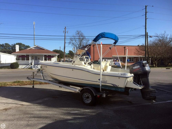 Used Scout 185 Sportfish Center Console Fishing Boat For Sale