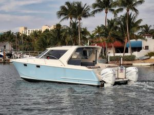 Used Roger Hill 31 Power Cat Power Catamaran Boat For Sale