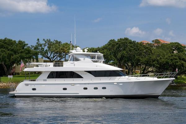 Used Ocean Alexander 74 Open Flybridge Motor Yacht 78 Motor Yacht For Sale