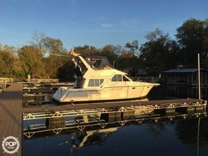 Used Carver 370 Voyager Aft Cabin Boat For Sale