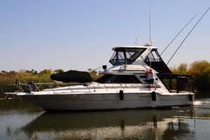 Used Sea Ray 440 Convertible Fishing Boat For Sale