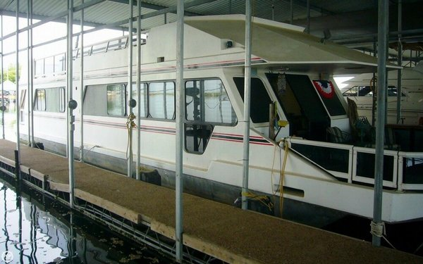 Used Three Buoys Sunseeker 56 House Boat For Sale