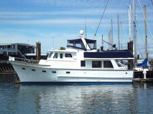 Used Defever 50 Pilothouse Trawler Boat For Sale