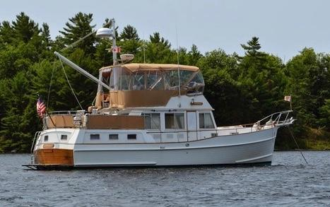 Used Grand Banks 42 Motor Yacht Trawler Boat For Sale