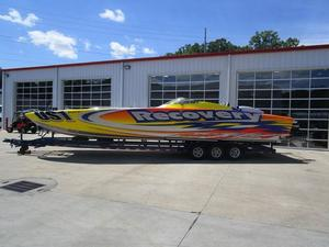 Used Skater 40 Classic Flat Deck High Performance Boat For Sale