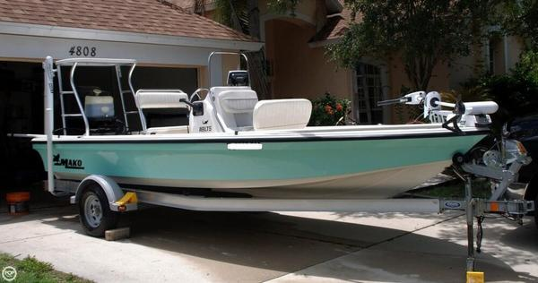 Used Mako 18 LTS Flats Fishing Boat For Sale