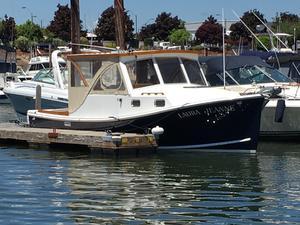 Used Harris Cuttyhunk 28 Downeast Fishing Boat For Sale
