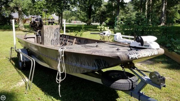 Used Pro-Drive 1754 X-Series Aluminum Fishing Boat For Sale