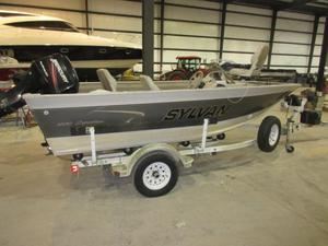 Used Sylvan 1600 Expedition Sport Freshwater Fishing Boat For Sale