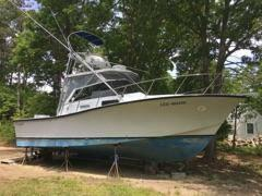 Used Rampage 28 Sportfisherman Express Cruiser Boat For Sale