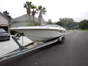 Used Fountain 29 Fever 500 HP Bravo XR High Performance Boat For Sale