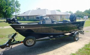 Used Lund 1625 Fury XL Aluminum Fishing Boat For Sale