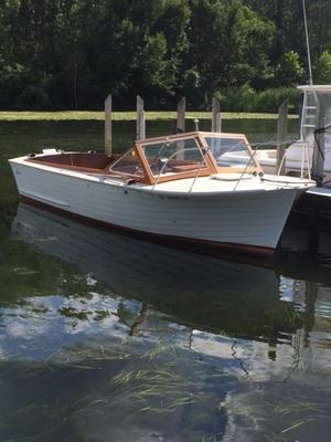 Used Lyman Sleeper Express Cruiser Boat For Sale