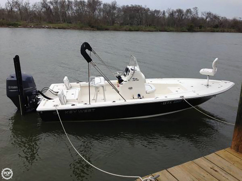 2013 used key west bay reef 210 center console fishing for Key west fishing boats