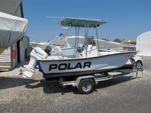 Used Polar 18 Center Console Center Console Fishing Boat For Sale