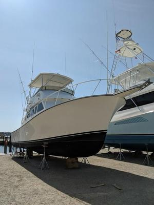 Used Henriques Sportfisherman Flybridge Boat For Sale