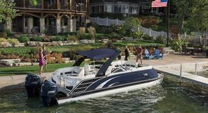 New Bennington 25 SSRP Pontoon Boat For Sale