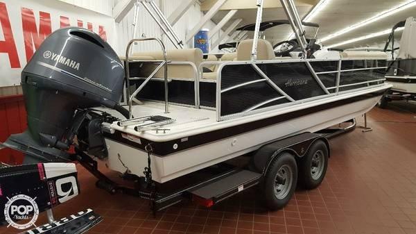 Used Hurricane Fun Deck 226 Pontoon Boat For Sale