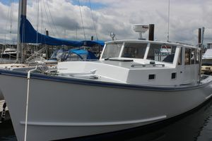 Used Custom Downeast Fishing Boat For Sale