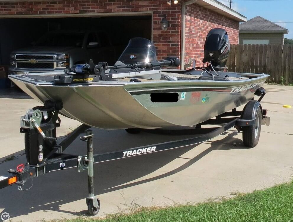2016 Used Tracker Pro 170 Bass Boat For Sale - $16,500