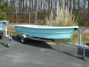 Used Fishbone Skiff 160 Saltwater Fishing Boat For Sale