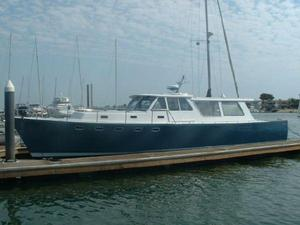 Used Custom Pacific Deadrise 48 Trawler Boat For Sale