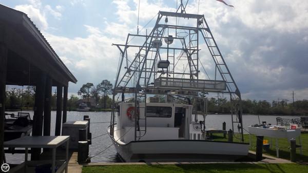 Used Terrebonne 38 Live Aboard Shrimper Commercial Boat For Sale