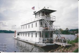Used Crain Engineering Sternwheeler House Boat For Sale