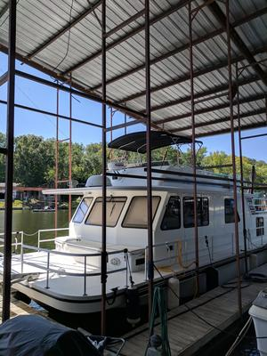 Used Gibson 50 X 16 5000 Series House Boat For Sale