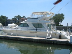Used Sea Ray Sedan Bridge Convertible Fishing Boat For Sale