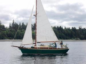 Used Custom Windjammer Cruiser Sailboat For Sale